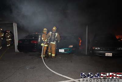 120102 LAFD Arson Magnolia Blvd  & Cedros Ave  -112