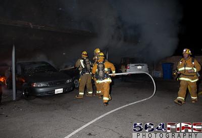120102 LAFD Arson Magnolia Blvd  & Cedros Ave  -103