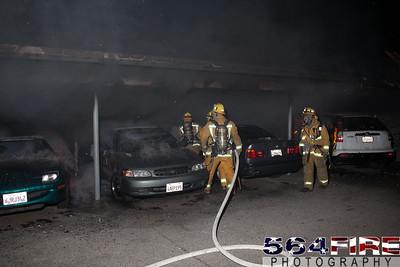120102 LAFD Arson Magnolia Blvd  & Cedros Ave  -125