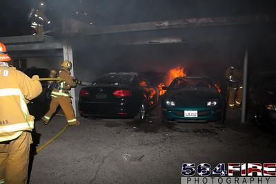 120102 LAFD Arson Magnolia Blvd  & Cedros Ave  -135