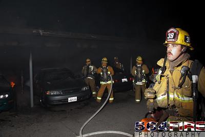 120102 LAFD Arson Magnolia Blvd  & Cedros Ave  -128