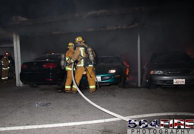 120102 LAFD Arson Magnolia Blvd  & Cedros Ave  -115