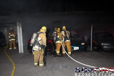 120102 LAFD Arson Magnolia Blvd  & Cedros Ave  -118