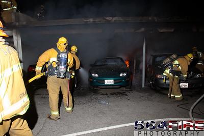 120102 LAFD Arson Magnolia Blvd  & Cedros Ave  -145