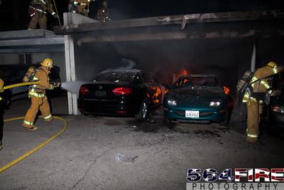 120102 LAFD Arson Magnolia Blvd  & Cedros Ave  -143