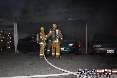 120102 LAFD Arson Magnolia Blvd  & Cedros Ave  -114