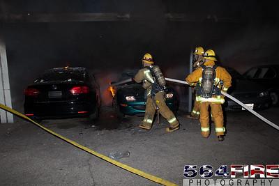 120102 LAFD Arson Magnolia Blvd  & Cedros Ave  -107