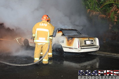 LAFD Auto Fire 11-27-10 91st & Compton Ave 103