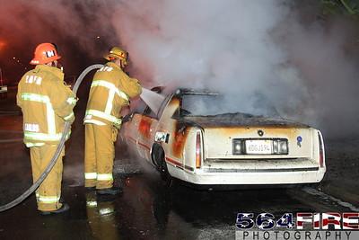 LAFD Auto Fire 11-27-10 91st & Compton Ave 105