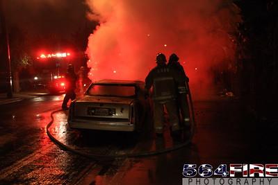 LAFD Auto Fire 11-27-10 91st & Compton Ave 115