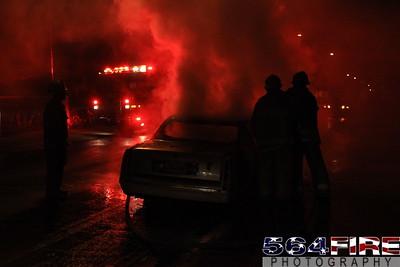 LAFD Auto Fire 11-27-10 91st & Compton Ave 107