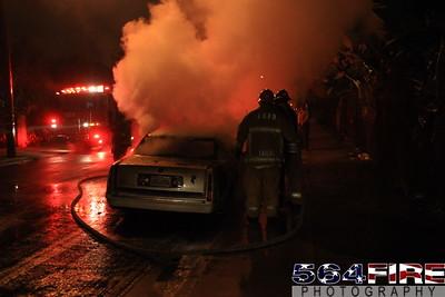 LAFD Auto Fire 11-27-10 91st & Compton Ave 111