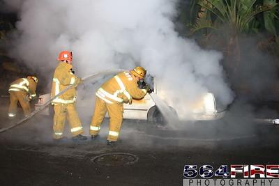 LAFD Auto Fire 11-27-10 91st & Compton Ave 102