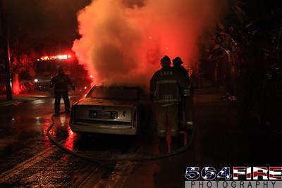 LAFD Auto Fire 11-27-10 91st & Compton Ave 112
