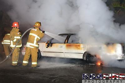LAFD Auto Fire 11-27-10 91st & Compton Ave 101