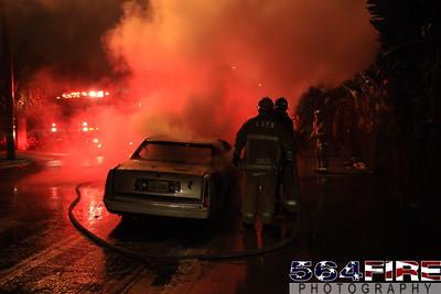 LAFD Auto Fire 11-27-10 91st & Compton Ave 110