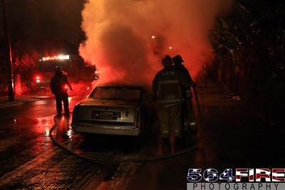 LAFD Auto Fire 11-27-10 91st & Compton Ave 113