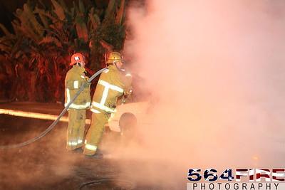 LAFD Auto Fire 11-27-10 91st & Compton Ave 100