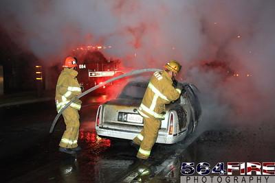 LAFD Auto Fire 11-27-10 91st & Compton Ave 106