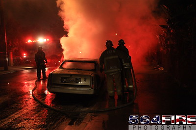 LAFD Auto Fire 11-27-10 91st & Compton Ave 114