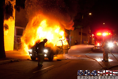 111216 LAFD Auto Fire MLK at Broadway-109