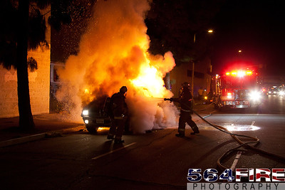 111216 LAFD Auto Fire MLK at Broadway-112