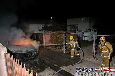 120217 LAFD Auto Fire 83rd & Central Ave-110