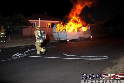 110826 LAFD Trailer Fire-110