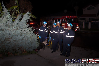111217 LACoFD Structure Fire Ladera Heights-135