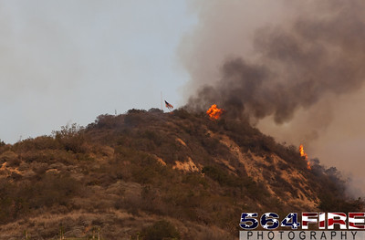 140116 LACoFD Colby Fire-9