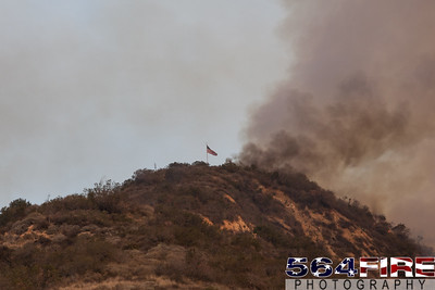 140116 LACoFD Colby Fire-8