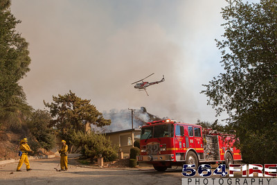 140116 LACoFD Colby Fire-4