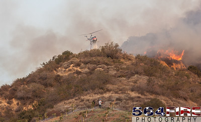 140116 LACoFD Colby Fire-11