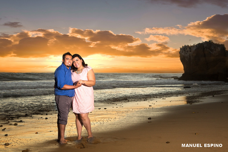 Malibu Engagement Photography Session