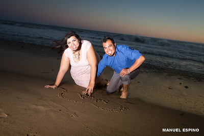 Malibu Beach Photo E Session