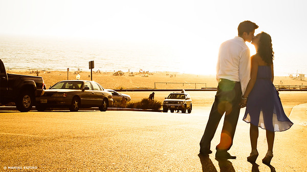 Los Angeles Manhattan Beach Engagement Session Photography