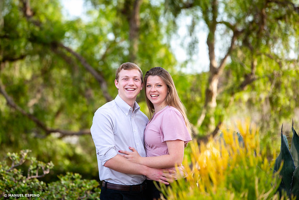 Laguna Beach Orange County Victoria Beach Engagement Session Photo