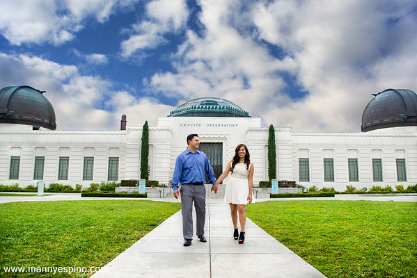 Los Angeles Observatory Wedding Photography