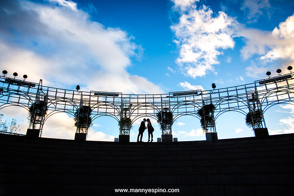 Downtown Los Angeles Engagement Session  Manny Espino