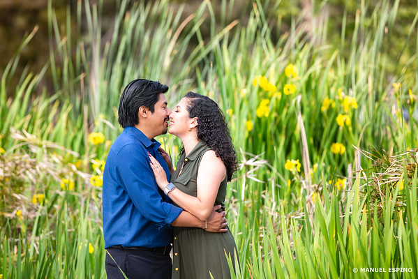 Los Angeles Kenneth Park Engagement Session Photography