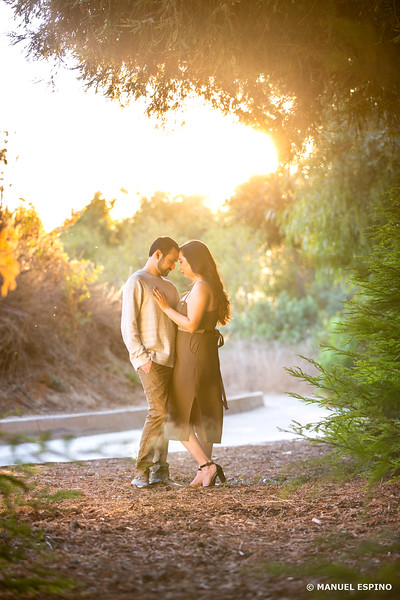 LA Brea Carbon Canyon Regional Park Orange County Engagement Session Photographer