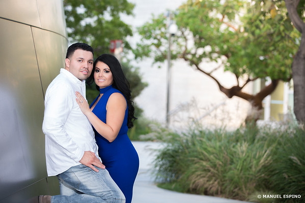 Disney Concert Hall Los Angeles Engagement Session