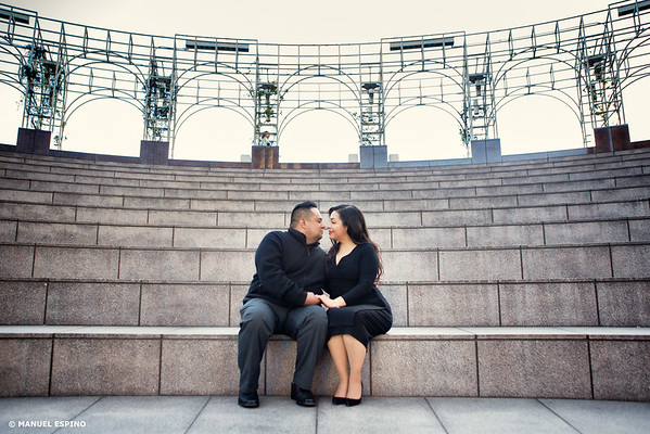 Downtown Los Angeles Engagement Session (2)