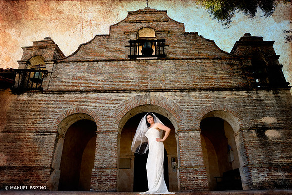 Los Angeles Wedding Photographer California Mission San Antonio