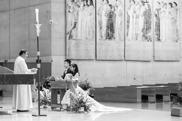 Catedral of Our Lady Of Los Angeles Quiet Cannon Wedding Photo-8