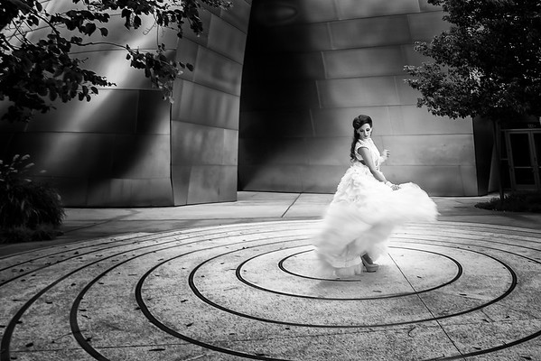 Los Angeles Disney Concert Hall Bride Wedding Photographer