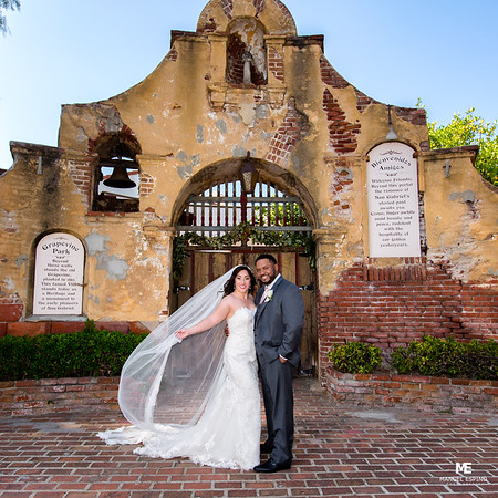 San Gabriel Mission Los Angeles Wedding Photography (2)