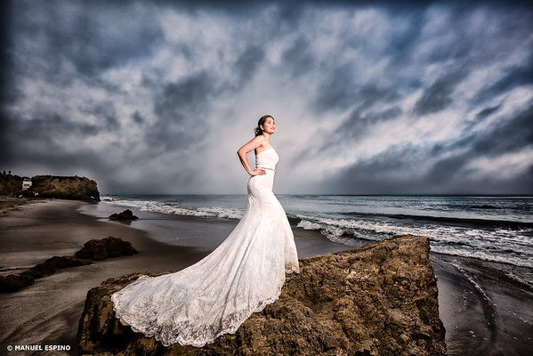 El Matador Los Angeles Bride Wedding Photography