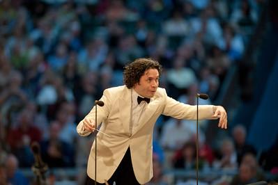 Gustavo Dudamel Performance July 12th 2011