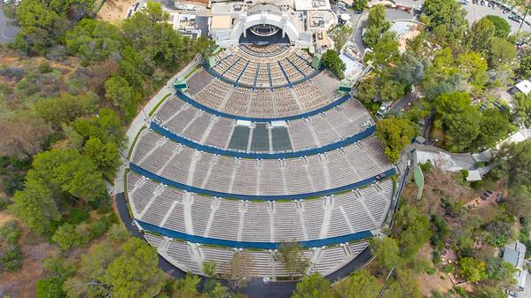 Hollywood Bowl Seat Plan and views June 2016